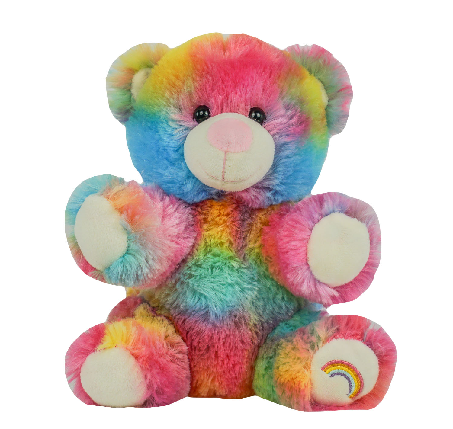 8″ Rainbow Bear – The Bear Factory